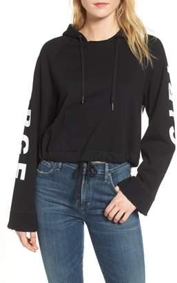Pam & Gela Girl on the Verge Crop Sweatshirt