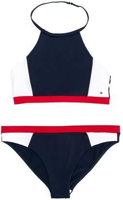 33905ff34 Tommy Hilfiger Junior colour block bikini set