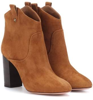 Aquazzura Rocky suede ankle boots