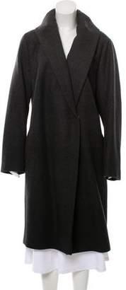 Akris Punto Double-Breasted Long Coat