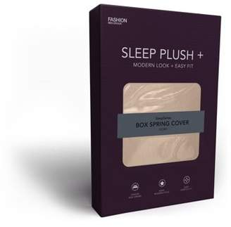 Leggett & Platt Sleep Plush + Ivory Fabric Box Spring Cover, Queen