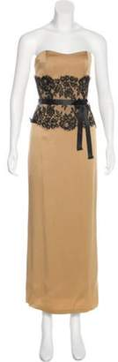 Couture Liancarlo Sleeveless Maxi Gown Gold Liancarlo Sleeveless Maxi Gown