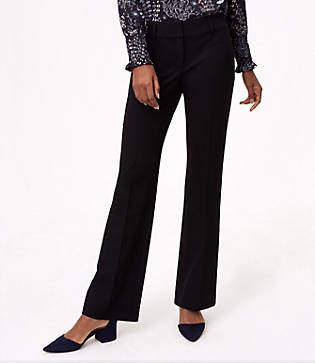 LOFT Petite Trousers in Custom Stretch in Curvy