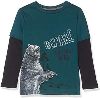 S'Oliver Boy's 63.710.31.7522 Longsleeve T-Shirt, (Blue Green 6760)