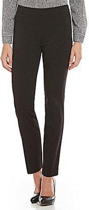 Jones New York Audrey Side Zip Tapered Straight-Leg Pants $79.50 thestylecure.com