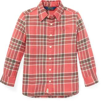 Ralph Lauren Plaid Tunic Shirt