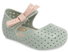 Toddler Girl's Mini Melissa Furadinha X Mary Jane Flat $57.95 thestylecure.com