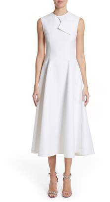 Calvin Klein Flap Detail A-Line Dress