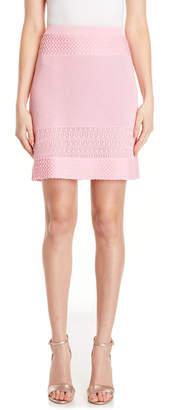 Moschino Multi Knit Stretch Mini Skirt