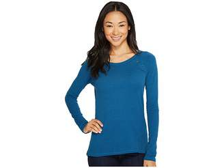 The North Face Long Sleeve Campground Knit Top Women's Long Sleeve Pullover