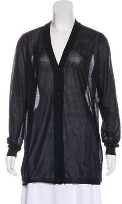 Bottega Veneta Cashmere & Silk Knit Cardigan