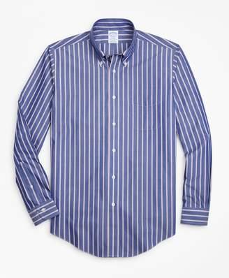 Brooks Brothers Non-Iron Regent Fit Ribbon Stripe Sport Shirt