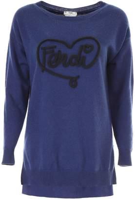 Fendi Heart Pullover