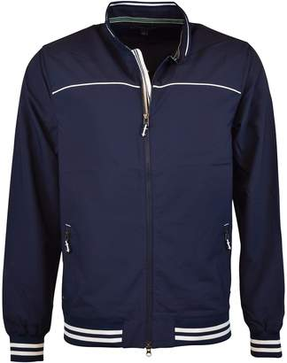 Tommy Hilfiger Mens Linton Double Weave Wind Jackets Midnight