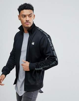 G Star G-Star BeRAW Track Jacket with Sports Taping