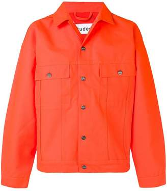 Études button-up denim jacket