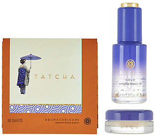 TATCHA 3-piece Camellia Beauty Collection $89 thestylecure.com