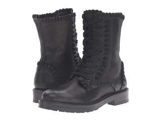 Kennel + Schmenger Kennel & Schmenger Contrast Stitch Combat Boot Women's Boots