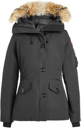 Canada Goose Montebello Down Parka with Fur Trim