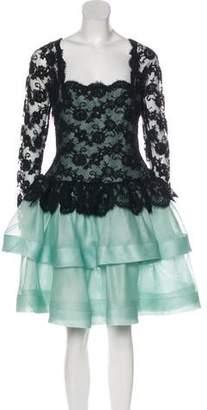 Oscar de la Renta Vintage Lace Dress