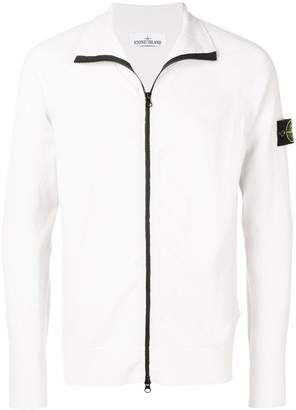 Stone Island zipped sweatshirt