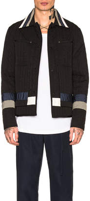 Craig Green Paneled Quilted Worker Jacket