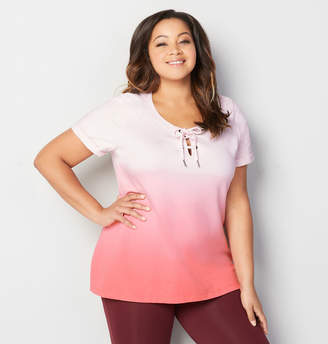 Avenue Dip Dye French Terry Active Pullover