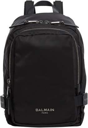 Balmain Buckle Side Backpack