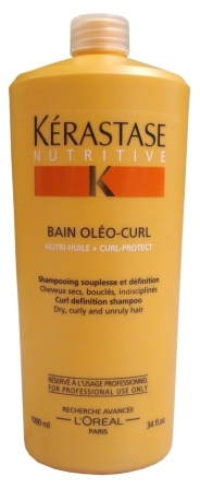 Kerastase Nutritive Bain Oleo Curl Shampoo Curl Definition Shampoo