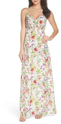 Felicity & Coco Carolina Print Maxi Dress (Regular & Petite)