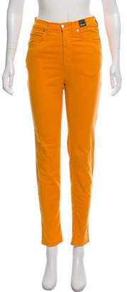 Versace Mid-Rise Skinny Jeans