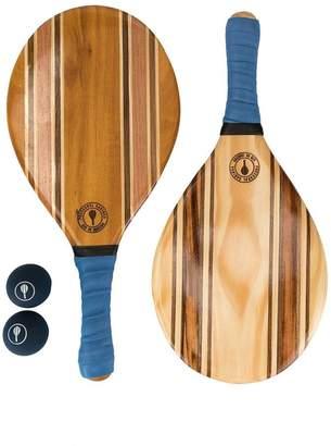 bi-colour beach bat set