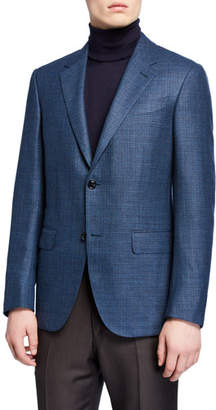Ermenegildo Zegna Men's Textured Wool Blazer