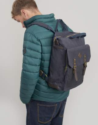 Joules Kirkland Waxed Canvas Backpack