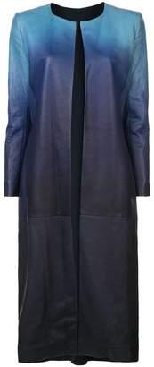 Oscar de la Renta gradient coat