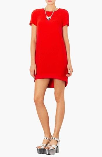 Topshop Crepe Shift Dress