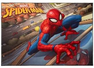 "Marvel Spider-Man 4'6""X6'6"" City Rug"