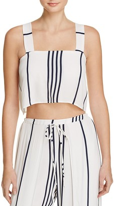 Faithfull the Brand Agios Crop Top $99 thestylecure.com