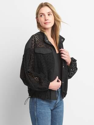 Gap Eyelet Lace Jacket