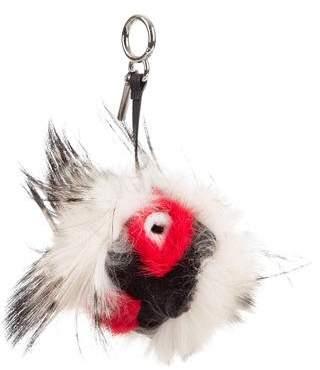 Fendi Fox Fur Kurioso Bug Bag Charm