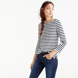 Striped boatneck T-shirt $39.50 thestylecure.com
