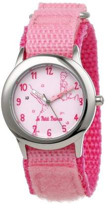 EWatchFactory Little Prince Kids' W000803 Stainless Steel Time Teacher Velcro Strap Watch
