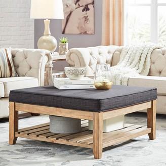 Homevance HomeVance Upholstered Coffee Table