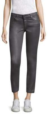 AG Jeans Coated Ankle Leggings