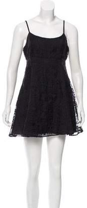 Stone_Cold_Fox Stone Cold Fox Embroidered Mini Dress w/ Tags