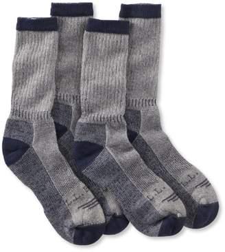 L.L. Bean L.L.Bean Cresta No Fly Zone Hiking Socks, Lightweight Two-Pack