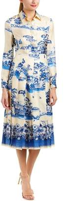 Gucci Silk A-line Dress.