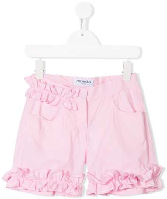Simonetta frill trim shorts
