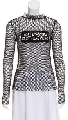 Sjyp 2018 See Thru Mesh Top w/ Tags
