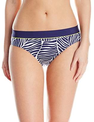 Jag Women's Caribbean Breeze Retro Bikini Bottom